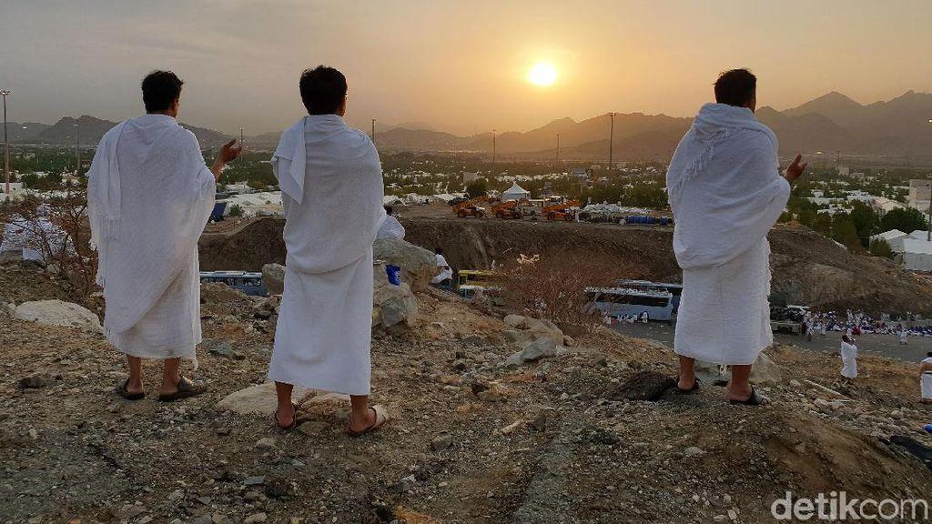 Sejarah Padang Arafah, Lokasi Wukuf Jamaah Haji