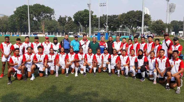 Indonesia ikut Kejuaraan Asia Rugby Sevens 2019 (dok.Rugby Indonesia)