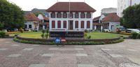 Gedung Landarchief, kantor ANRI yang lama di Jl Gajah Mada (Masaul/detikcom)