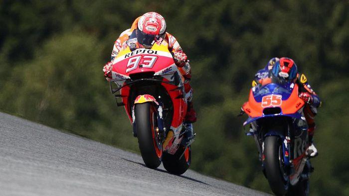 Live streaming MotoGP Austria bisa disaksikan di detikSport (Foto: Lisi Niesner/Reuters)