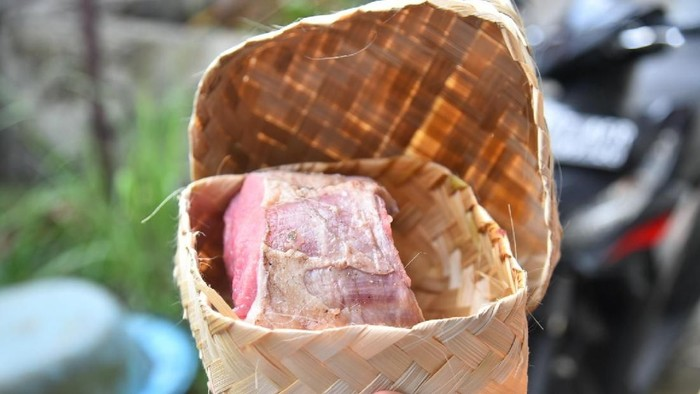 Pembagian daging kurban di Sumut pakai besek diapresiasi Gubernur Edy Rahmayadi (Dok. Istimewa)