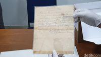 Naskah Proklamasi, salah satu harta karun dokumen bangsa (Masaul/detikcom)