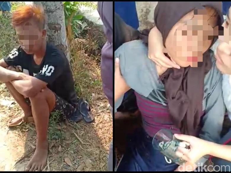 Heboh, Remaja Perempuan Dalam Kondisi Mabuk Terjatuh dari Motor di Cianjur