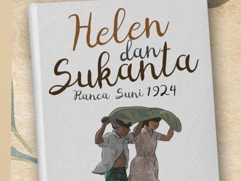 Foto: Novel Helen dan Sukanta (dok. Instagram Pidi Baiq)