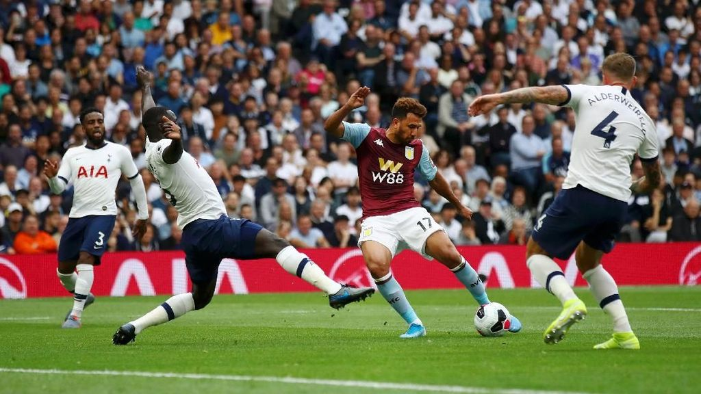 Link Live Streaming Aston Villa Vs Tottenham