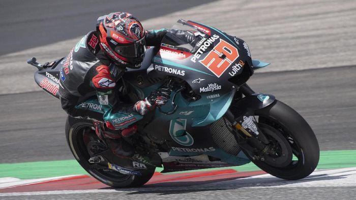 Fabio Quartararo finis ketiga di MotoGP Austria. (Foto: Mirco Lazzari gp/Getty Images)