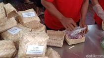 Daging Kurban di Istiqlal Dikemas Pakai Plastik Ramah Lingkungan