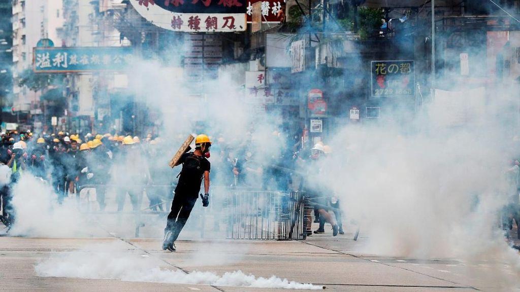 Dampak Demo Hong Kong, Kunjungan Turis Turun 40 Persen