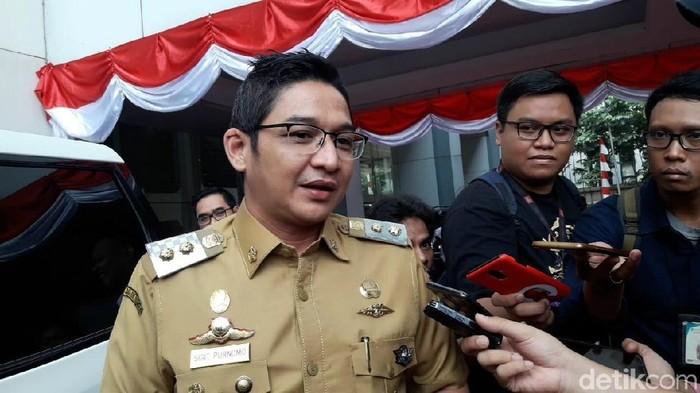 Wakil Wali Kota Palu Sigit Purnomo Syamsuddin Said (Eva Safitri/detikcom)