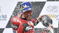 Dovizioso Sebenarnya Takut Duel dengan Marquez di Tikungan Terakhir