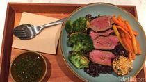 SUPERGRAIN: Ada Paduan Nasi Hitam dan Charred Steak Dalam Super Bowl