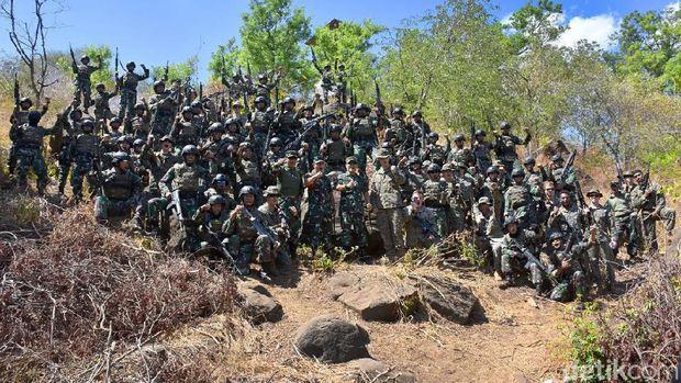 Latihan bersama TNI dan AS di Situbondo/