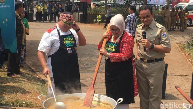 5.000 Boks Masakan Daging Kurban Bintang Lima DKI Dibagikan Hari Ini