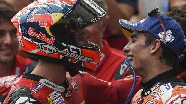 Bos Ducati Sebut Marquez Sebagai Penghalang Ducati Juara
