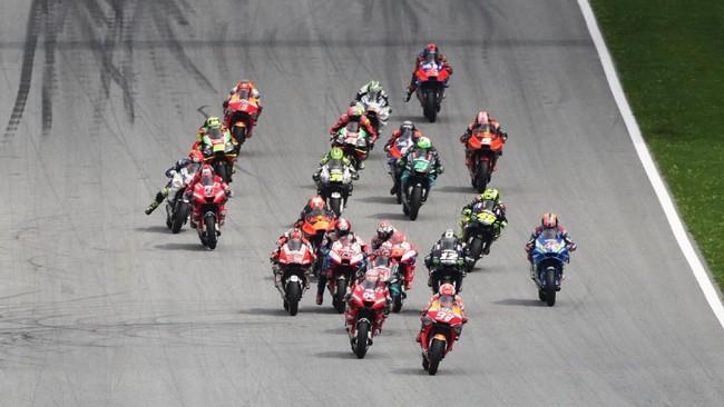 Jadwal sementara MotoGP 2020 dirilis (Foto: Lisi Niesner / Reuters)