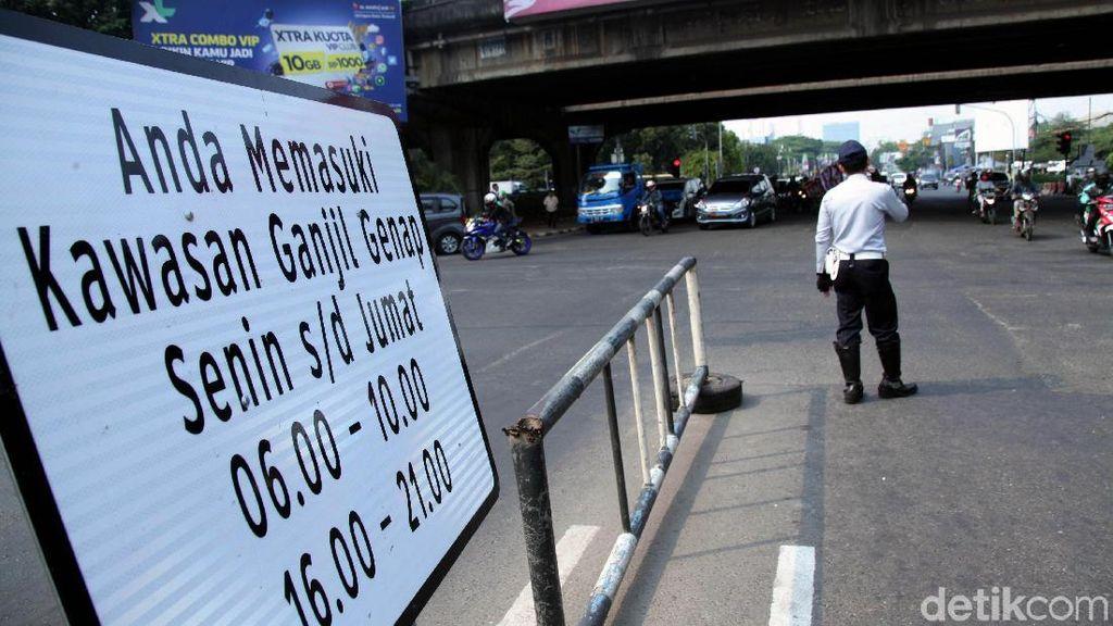 Hari Pertama Pemberlakuan Ganjil Genap di Jakarta, Polisi: Mayoritas Tertib