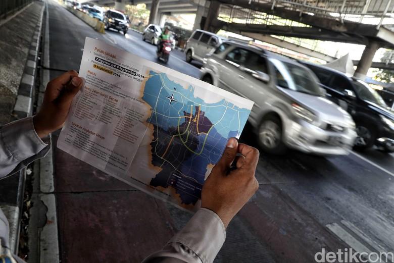 Perluasan ganjil genap Jakarta. Foto: Pradita Utama