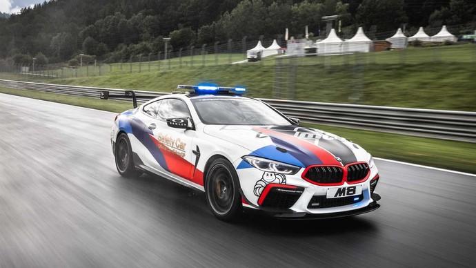 Resmi Jadi Armada MotoGP Safety Car, Begini Gagahnya BMW M8
