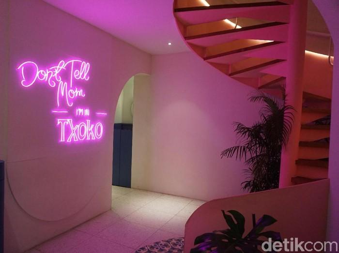 Interior Txoko di kawasan Senopati, Jakarta Selatan. (Foto: Daniel Ngantung/Wolipop)