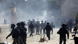 Bubarkan Massa Palestina, Polisi Israel Tembaki Peluru Karet-Air Sigung