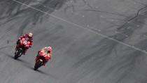Andrea Dovizioso Tidak Beruntung karena Marc Marquez