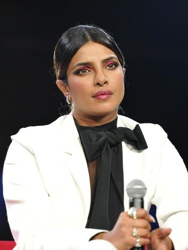 LOS ANGELES, CALIFORNIA - AUGUST 10:  Priyanka Chopra attends Beautycon Festival Los Angeles 2019 at Los Angeles Convention Center on August 10, 2019 in Los Angeles, California. (Photo by Araya Diaz/Getty Images for Beautycon)