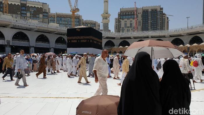 Ibadah haji di Mekah (Foto: Ardhi Suryadhi/detikcom)