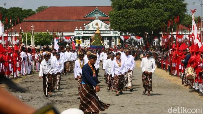 Acara adat di Keraton Yogyakarta (usman/detikcom)
