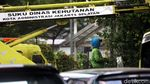 Jelang HUT RI, Taman Kolong JLNT Antasari Dipercantik