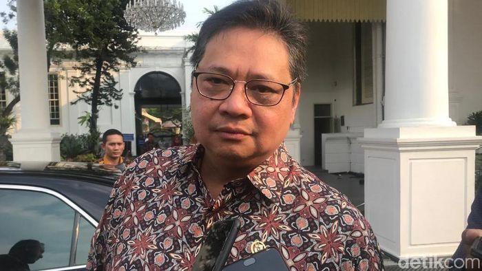 Foto: Menteri Perindustrian Airlangga Hartarto (Zhacky/detikcom)