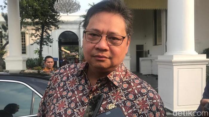 Ketum Golkar Airlangga Hartarto (Zhacky/detikcom)