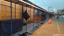 Direlokasi ke Kios, PKL Sekitar Masjid Agung Bogor Mengeluh Sepi Pembeli