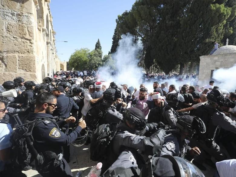 Tentaranya Bentrok di Kompleks Masjid Al-Aqsa, Israel Diprotes Yordania