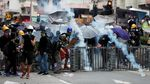 Lagi, Bentrokan Terjadi Antara Massa Aksi dan Polisi di Hong Kong