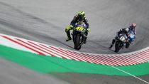 Rossi Terpaksa Pelan Hingga Tak Bisa Beradu Dapat Podium