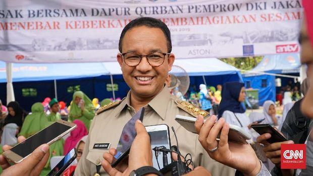 Gubernur DKI Anies Baswedan memiliki kediaman pribadi di Lebak Bulus, Jakarta Selatan.