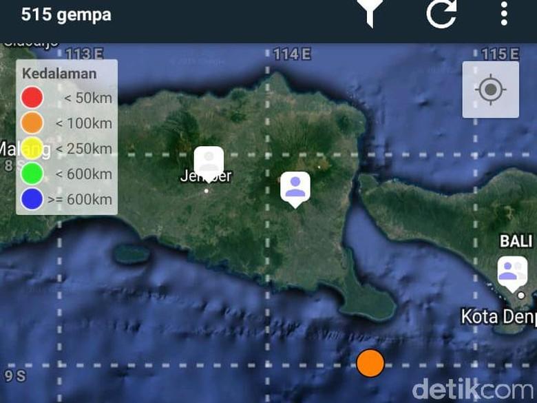 12 Kali Gempa di Jembrana Bali, BPBD Jember Tingkatkan Kewaspadaan