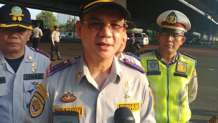 Kepala Dishub DKI Jakarta Syafrin Liputo (Jefrie Nandy Satria/detikcom)
