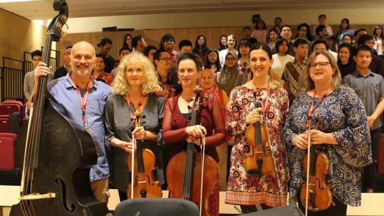 Kolaborasi dengan Orkestra Melbourne, Indonesia Ingin Majukan Industri Musik