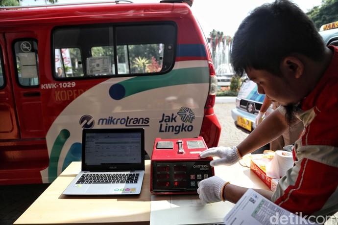 Asyik, Kini Cek Asap Kendaraan Bisa dengan e-Uji Emisi