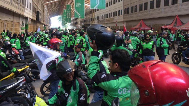 Driver di Medan Demo, Gojek Tegaskan Tak Ada Sistem Prioritas