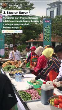 Masak Sayur Babanci, Fery Farhati Mengenal Temu Mangga hingga Trubuk