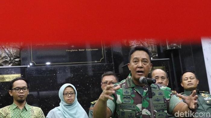 Jenderal Andika Perkasa (Foto: Ari Saputra/detikcom)
