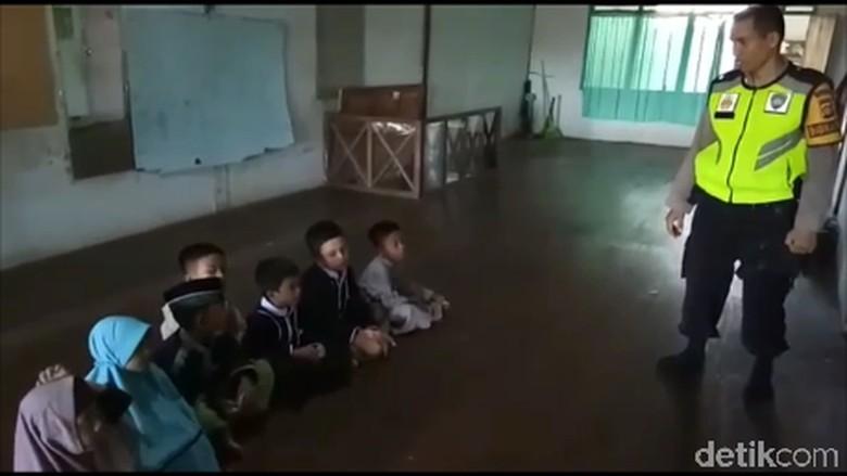 Kisah Bripka Ahmad Sisihkan Gaji dan Hibahkan Tanah untuk Bangun SD di Sulbar