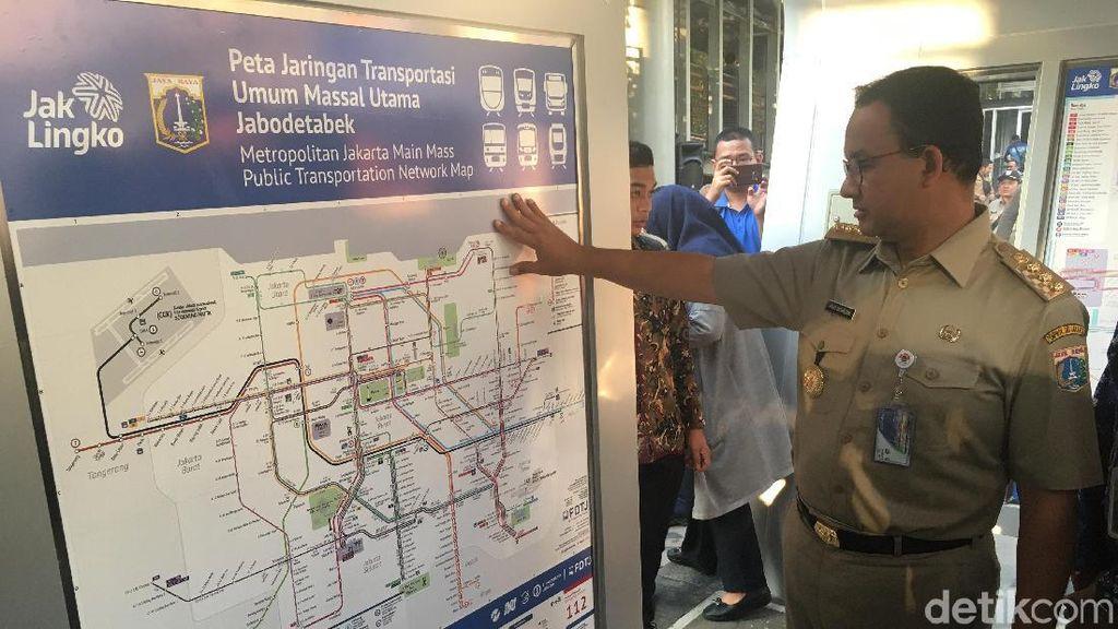Anies Sediakan Peta hingga Penunjuk Jalan Berstandar Internasional