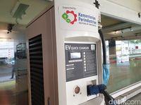 SPLU untuk mengisi baterai kendaraan listrik.