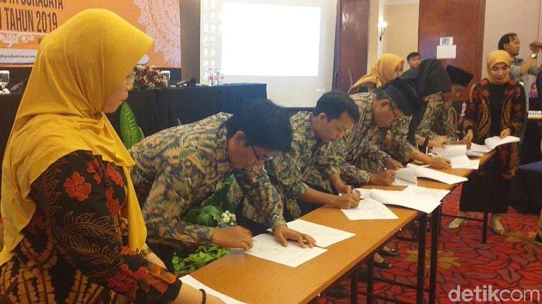 KPU Tetapkan Perolehan Kursi DPRD Surabaya, PDIP Raih Kursi Terbanyak