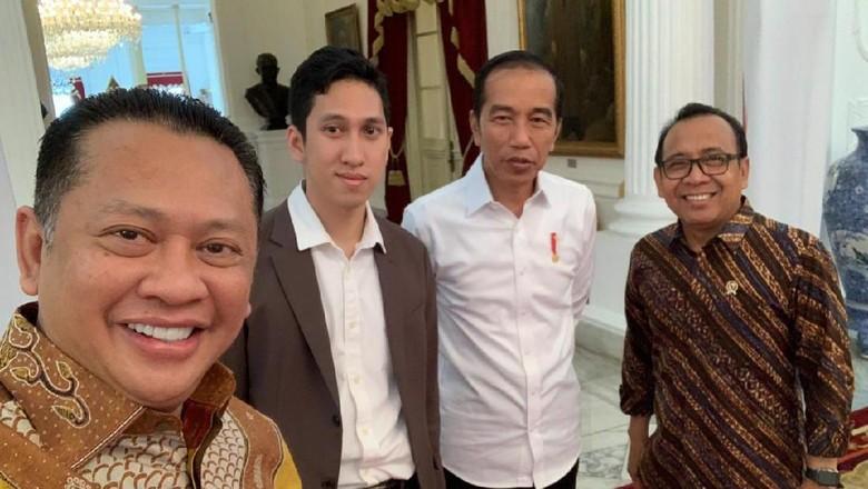 Ke Istana, Bamsoet Minta Jokowi Jadi Saksi Nikah Anaknya