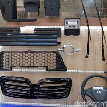 Intip Komponen Mobil Esemka yang Dibuat Dalam Negeri