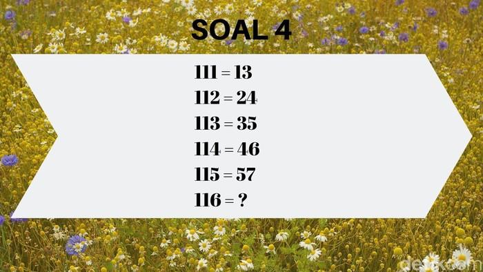 Nah, kalau ini lanjutannya angka berapa? (Foto: detikHealth)